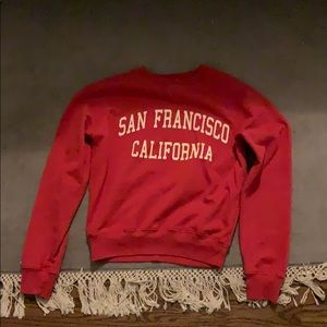 Brandy Melville San Francisco sweatshirt